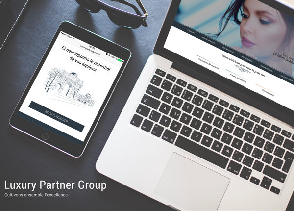 Lancement du site internet Luxury Partner Group